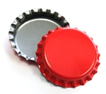 Cherry Red Bottle Caps Standard