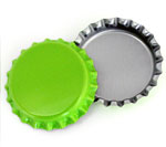 Lime Green Bottle Caps Standard