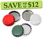 Christmas Bottle Cap Combo Pack