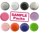 Sample Multi-Pack 1 Sided Bottle Caps