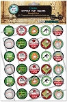Baseball Star Bottle Cap Images - Printed