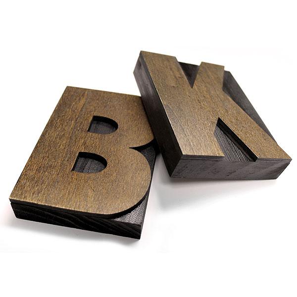 Letter Press Blocks R Bottle Cap Co 5 Letter Type Blocks