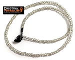Clear Destiny Rescue Single Strand Necklace