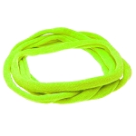 Nylon Choker Necklace -Neon Green
