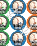 Baseball-1 Inch Editable Bottle Cap Images