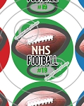 Football-1 Inch Editable Bottle Cap Images