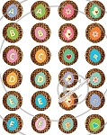 Bottle Cap Images -Mini Easter Egg Alphabet