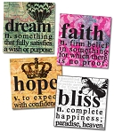Alphabet Tile Images -Inspirational Words