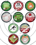 Bottle Cap Images Baseball Star