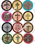 Bottle Cap Images - Crosses