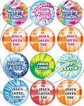 Bottle Cap Images -Easter Tie Dye