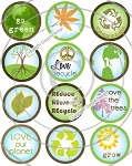 Bottle Cap Images - Go Green