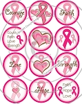 Bottle Cap Images - Go Pink