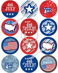 Bottle Cap Images -Happy 4th of July