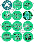 Bottle Cap Images -St Paddy's Day