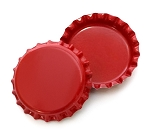 Two Sided Red Bottle Caps Standard