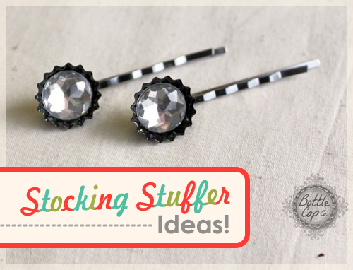 Mini Bottle Cap Bobby Pins and Hair Accessories