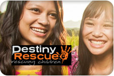 Destiny Rescue and Bottle Cap Co.