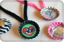 How To Make A Bottle Cap Magnet Necklace