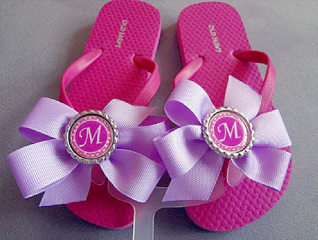 Bottle Cap Flip Flops!