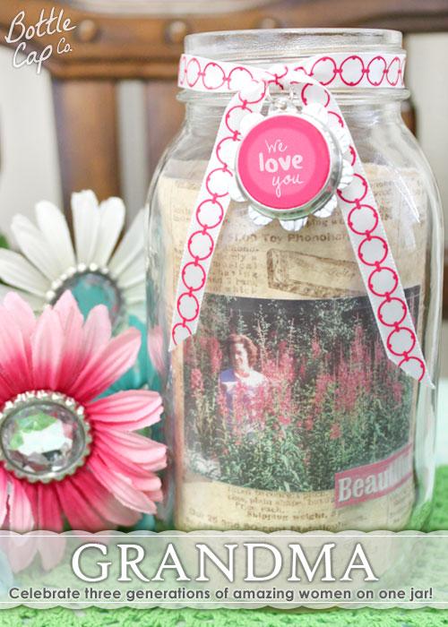 DIY Mother's Day Idea Grandma