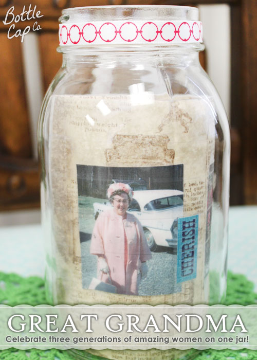 DIY Mother's Day Idea Great Grandma