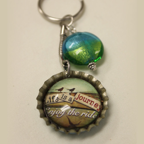 Bottle Cap Key Chain Gift