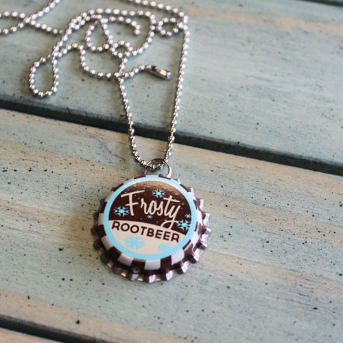Vintage Bottle Cap Necklaces