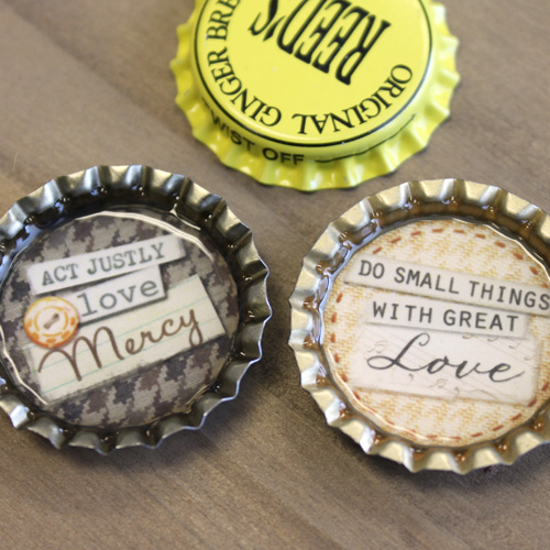 Bottle Cap Magnet Ideas