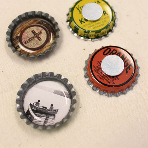 Vintage Bottle Cap Magnets