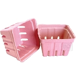 Berry Baskets - Pink 10pc