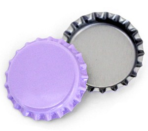 Purple Bottle Caps Standard