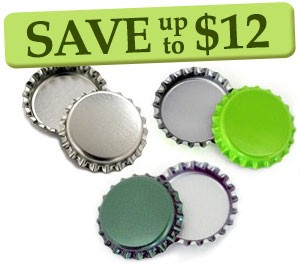 Saint Patrick's Day Bottle Cap Combo Pack