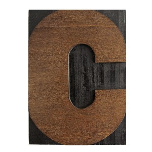 C, Large Letter Press Blocks