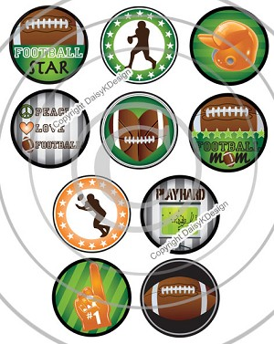 Bottle Cap Images Football Star