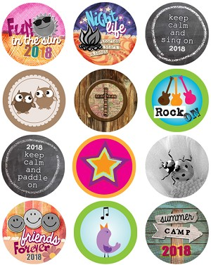 Bottle Cap Images -Summer Camp 2018
