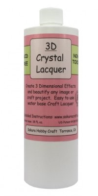 18 oz 3D Crystal Lacquer