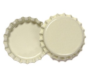 Two Sided Cream Bottle Caps Standard